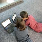 小学生の授業でプログラミング